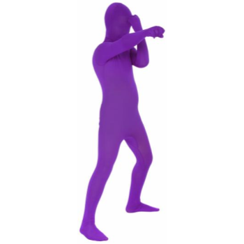 Picture of PURPLE MORPHSUIT KID - LARGE