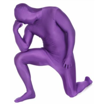 Picture of PURPLE MORPHSUIT ADULT - LARGE