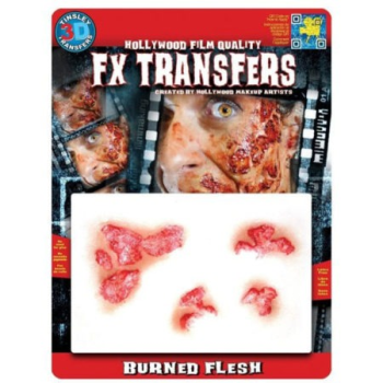 Image de FX BURNED FLESH - FX TRANSFERS
