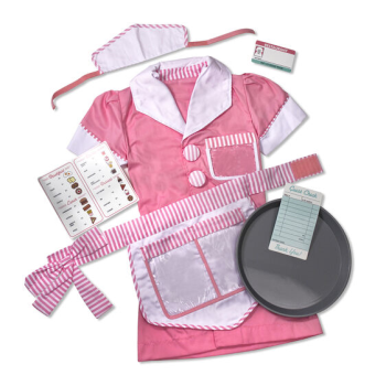 Image de ROLE PLAY COSTUME KIDS SETS - WAITRESS