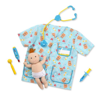 Image de ROLE PLAY COSTUME KIDS SETS - NURSE