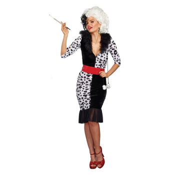 Picture of DALMATION DIVA COSTUME - SMALL