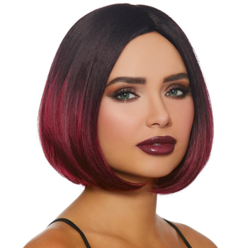 Picture of BOB WIG - OMBRE BLACK/BURGUNDY