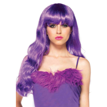 Picture of WIG - STARBRIGHT LONG WAVY - PURPLE