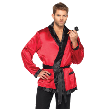Image de BACHELOR ROBE - RED - ONE SIZE