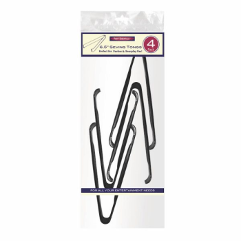 Image de SERVING WARE - SERVING TONGS - BLACK