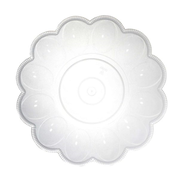"Picture of SERVING WARE - CLEAR PLASTIC - 9.5"" EGG DISH"