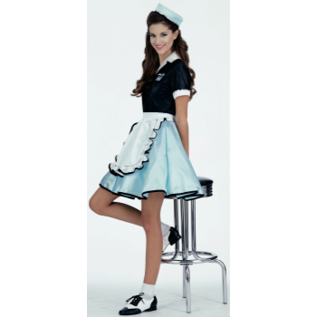 Picture of CAR HOP ADULT COSTUME - ONE SIZE