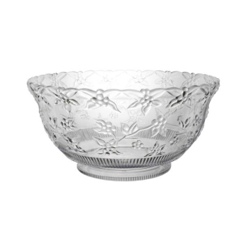 Image de SERVING WARE - CLEAR EMBOSSED PUNCH BOWL - 8qt