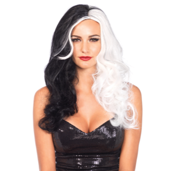 Picture of WIG - CRUELLA - BLACK/WHITE