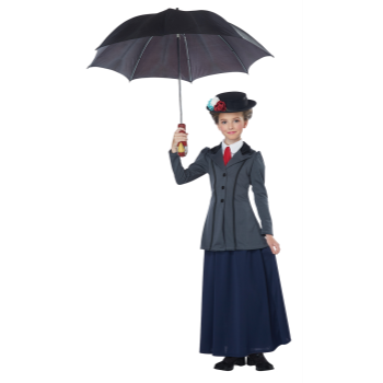 Picture of ENGLISH NANNY - MARY POPPINS - LARGE KIDS