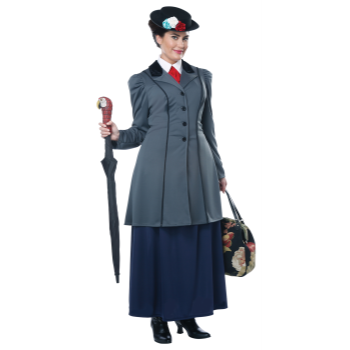 Picture of ENGLISH NANNY - MARY POPPINS - 1X PLUS ADULT