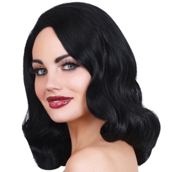 Image de 20'S HOLLYWOOD GLAMOUR WIG - BLACK