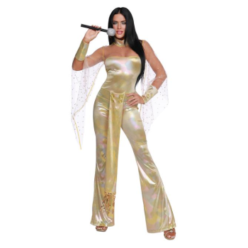Picture of 70'S ICON - WOMEN'S SMALL - GOLD CHER