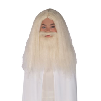 Image de GANDALF BEARD WITH WIG - CHILD