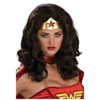 Picture of WONDER WOMAN WIG - ADULT