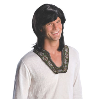 Picture of 70'S GUY WIG - ADULT - BLACK