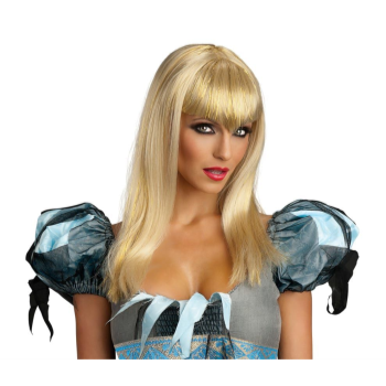 Picture of GLITTER VAMP WIG  - ADULT - BLONDE