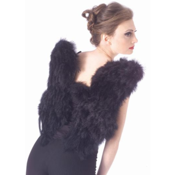 Image de ANGEL WINGS - FEATHER - BLACK