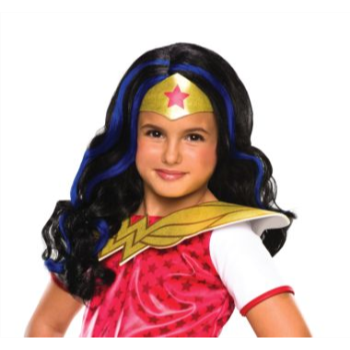 Picture of WONDER WOMAN WIG - CHILD