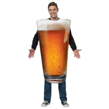 Image de BEER GLASS - ADULT ONE SIZE COSTUME