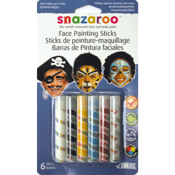 Image de SNAZAROO - PAINTING STICKS - 6/SET