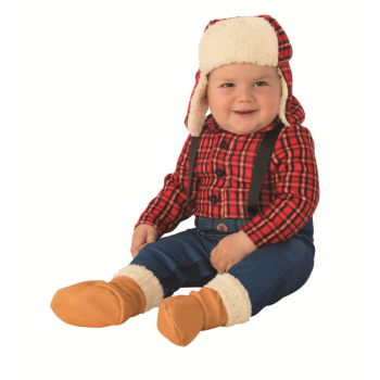 Image de LITTLE LUMBERJACK COSTUME - INFANT