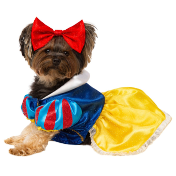 Image de SNOW WHITE DOG COSTUME - MEDIUM