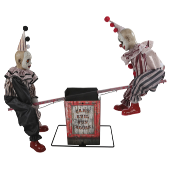 Image de SEE SAW CLOWNS ANIMATED PROP