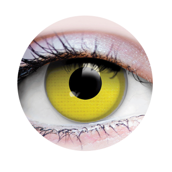 Picture of RAVEN - CONTACT LENSES YELLOW