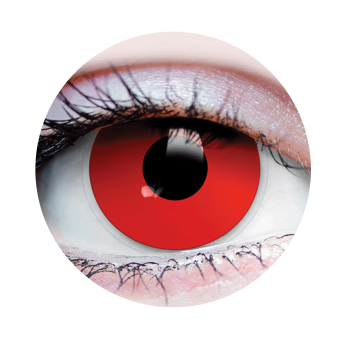 Picture of EVIL EYES - CONTACT LENSES RED