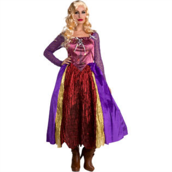 Picture of HOCUS POCUS WITCH DRESS - SILLY WOMENS XLG