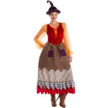 Picture of HOCUS POCUS WITCH DRESS - GOOFY WOMENS MED