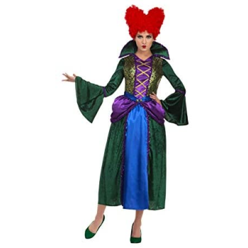 Picture of HOCUS POCUS WITCH DRESS AND WIG - WINIFRED BOSSY WOMEN MED