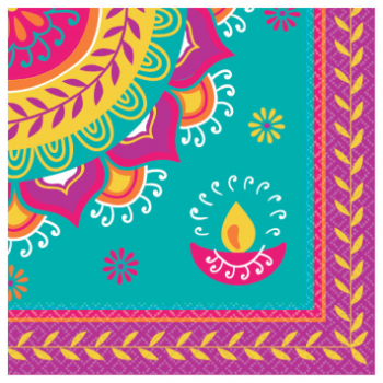 Picture of DIWALI LUNCHEON NAPKIN