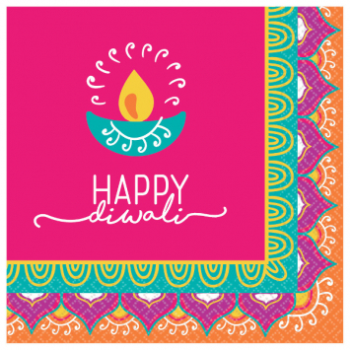 Picture of DIWALI BEVERAGE NAPKIN