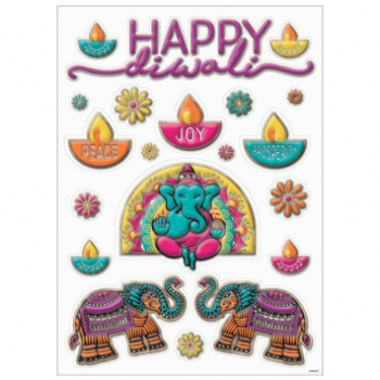 Picture of DIWALI WINDOW FOIL DECOR