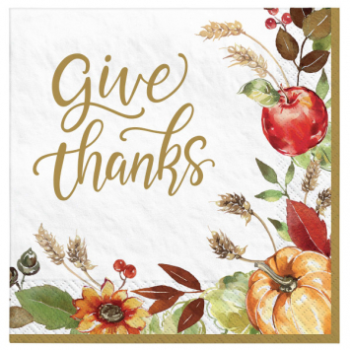 Picture of GRATEFUL DAY - DINNER NAPKIN MID-CT