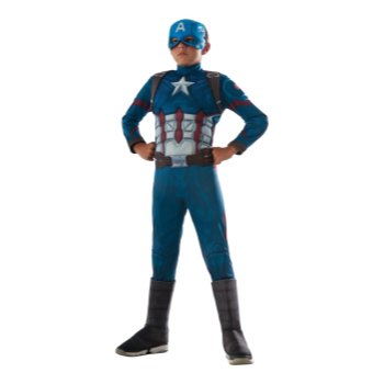 Picture of DELUXE CAPTAIN AMERICA - MEDIUM