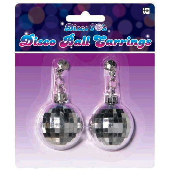 Image de 70'S DISCO BALL EARRINGS