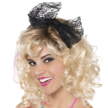 Image de 80'S LACE BOW HEADBAND