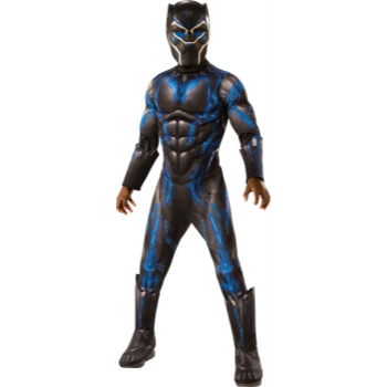 Picture of DELUXE BLACK PANTHER BATTLE SUIT - MEDIUM