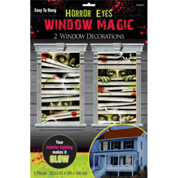 Picture of HORROR EYES WINDOW MAGIC DECORATION