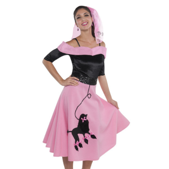 Picture of 50'S - POODLE SKIRT - ADULT STANDARD
