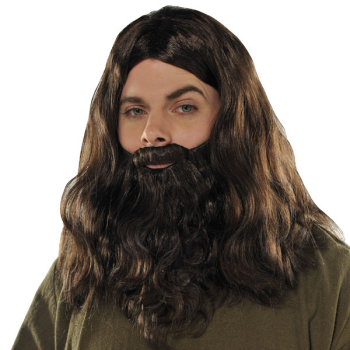Picture of WIG - BROWN WIG & BEARD SET