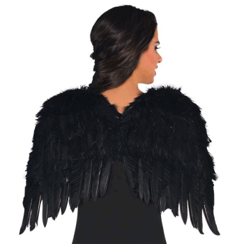 Image de ANGEL - BLACK FEATHER WINGS