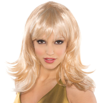Picture of WIG - FEATHER SHAG BLONDE WIG
