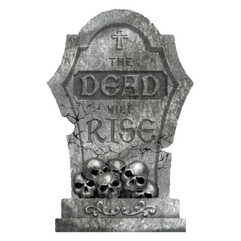 Picture of THE DEAD WILL RISE TOMBSTONE