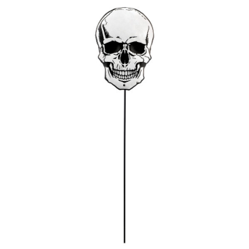 Picture of SKULL METAL YARD STAKE