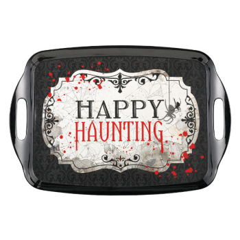 Picture of HAPPY HAUNTING RECTANGULAR TRAY